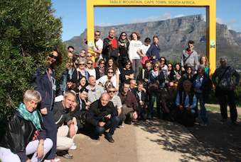 Il Gruppo a Table Mountain