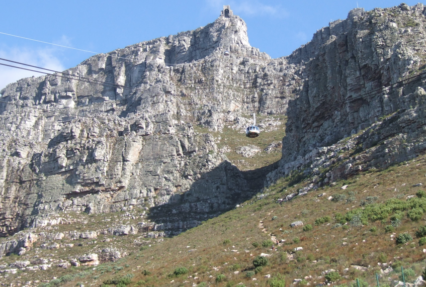 La funivia della Table Mountain