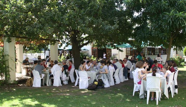 Pranzo a Stellenbosch