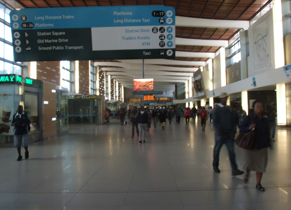 Città del Capo - La stazione