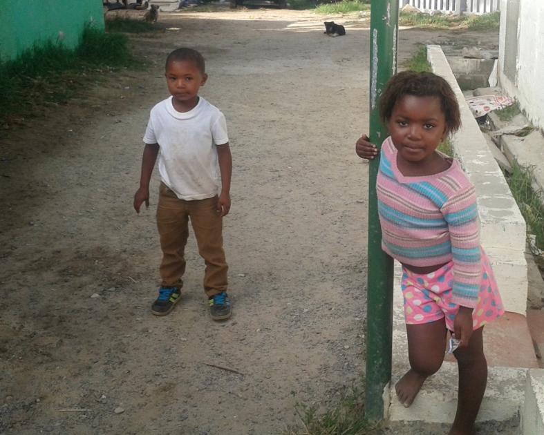 Bambini nella TownShip