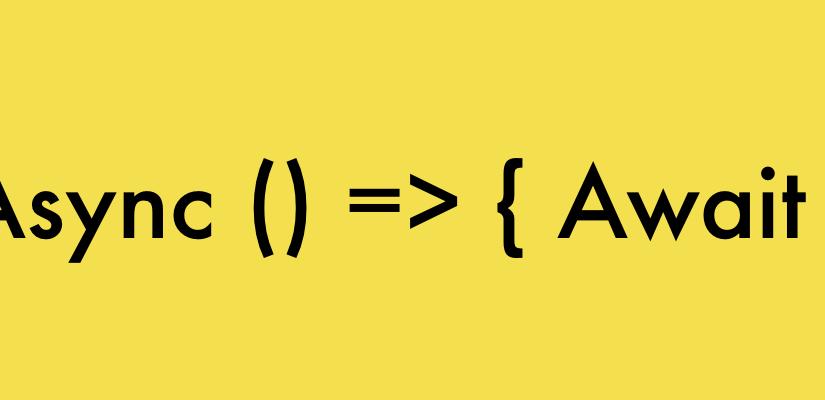 Programmazione asincrona con async – await (parte 2)